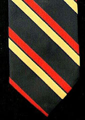 Vintage Pride of England- Blue/Red/Yellow Stripe Tie