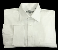 Hickey Freeman- White FC Formal/ Dress Shirt- Size 16x35