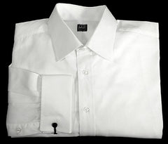 Ike Behar White FC- Formal/ Dress Shirt- size 16.5x34