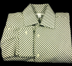 New- Banana Republic Dress/ Fashion Shirt- size L (16-16.5)