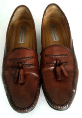 Sandro Mascoloni Brown Tassel Loafer Shoes- Size 13