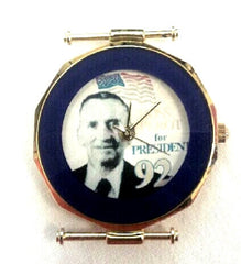 Vintage 1992 Ross Perot- Presidential Candidate Novelty Watch