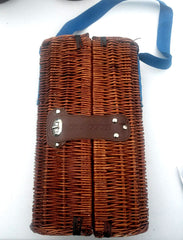 Grey Goose Wicker Picnic/Travel Wine Carrier