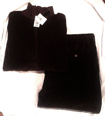 New- American Essentials Brown Velour Loungewear/Tracksuit- size L