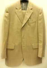 Jack Victor- Summer Tan Super 110's Wool Suit- size: 42R