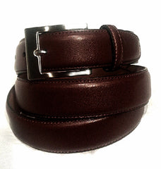 New- Brown Handcrafted 100% Genuine Leather Dress Belt- size 44