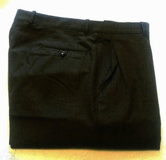 Gala Slacks of Canada- Olive Flannel Wool Dress Trousers- size 38x30