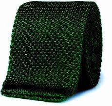 New- Brooks Brothers Makers- Green Silk Italian Knit Tie