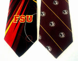 Florida State Seminoles- College Logo Novelty Silk Ties