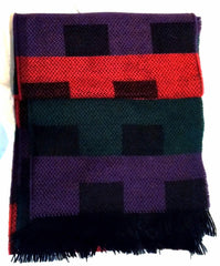 New- Multi Color Check Fashion Scarf