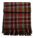 New- English Plaid 100% Wool Fashion Scarf