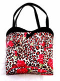 Women's Leopard Print 'Corset' Novelty Hand-Bag