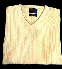 New- Pendleton Yellow Silk & Cotton Cable Knit Sweater Vest- size L