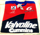 New- NASCAR #6 Mark Martin 'Valvoline'- Sweatshirt- size XL
