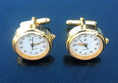 Hands of Time Clock Cuff Links