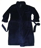 New- Izod Sleepwear- Blue Luxury Fleece Robe- one size