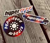 HyperDyed Stickers Dyed Wheels