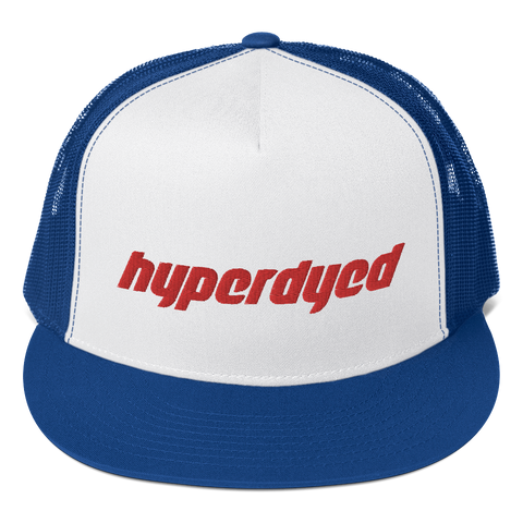 Blue Trucker Cap - HyperDyed Wheels