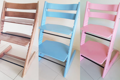 How to Paint a Stokke Tripp Trapp High Chair