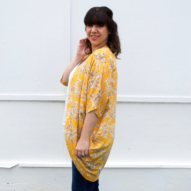 mustard breastfeeding top
