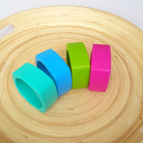 charlie cubey silicone bangle