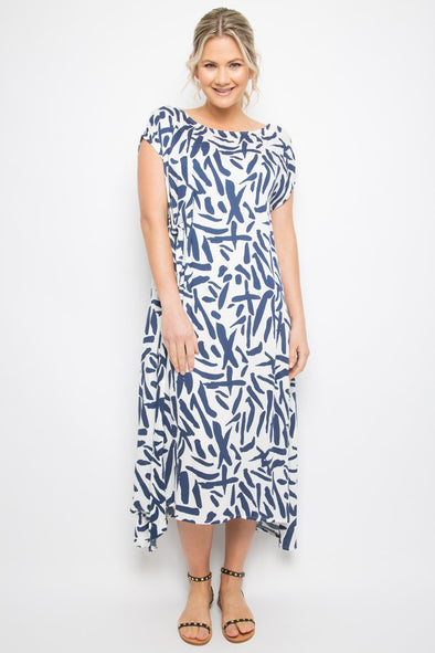 PQ Charm Dress - Sea Splash