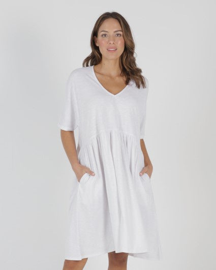 Betty Basics - Portsea Dress - White
