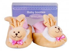 Baby Boots - Pink Bunny