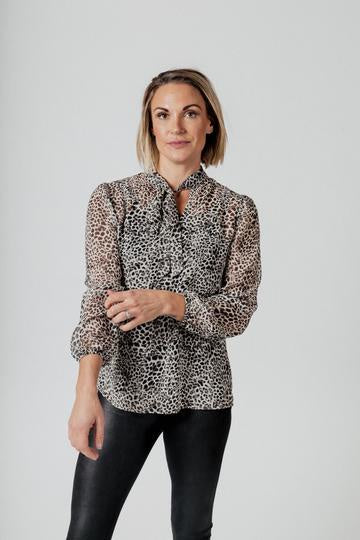 Mi Moso - Serena Blouse - Animal