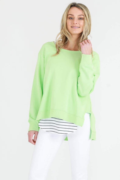3rd Story - Ulverstone Sweater - Neon Green