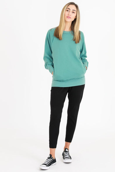 3rd Storey - Hannah Sweater - Sea Green