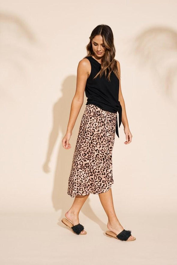 Savannah Skirt - Leopard