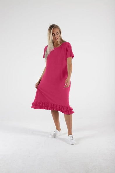 Betty Basics - Amber Dress - Fuschia