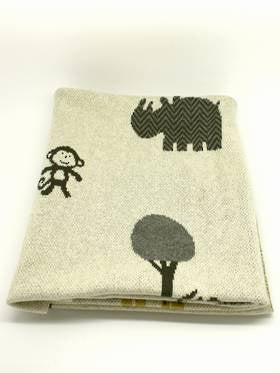 Safari Cotton Baby  Blanket