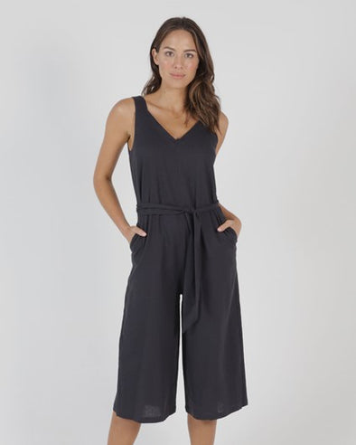 Betty Basics - Joey Jumpsuit - Indi Grey
