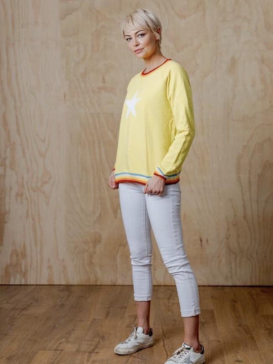 Mi Moso - Weekender Sweater - Yellow