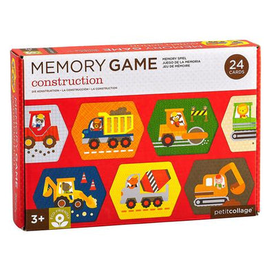 Petit Collage - Construction Memory Game