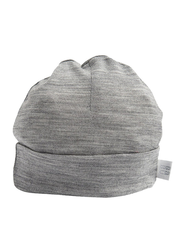 Babu Merino Beanie in Grey