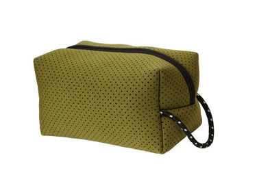 Punch Wash Bag - Olive