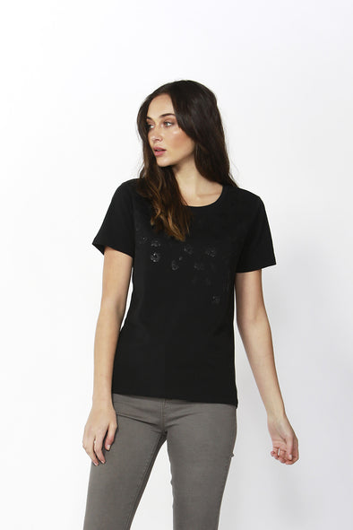 Betty Basics - Sequin Cara Tee