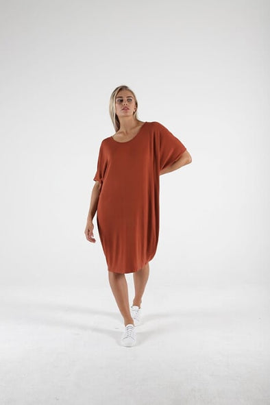 Betty Basics - Maui Dress - Terracotta
