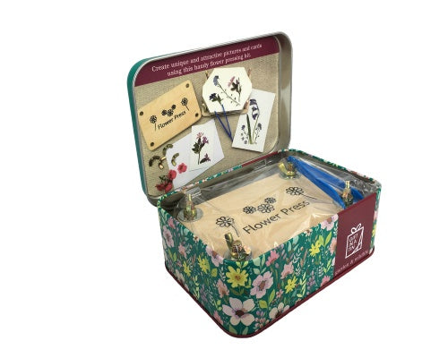Gift in a Tin - Flower Pressing Kit