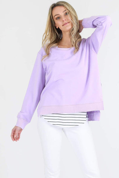 3rd Story - Ulverstone Sweater - Neon Purple