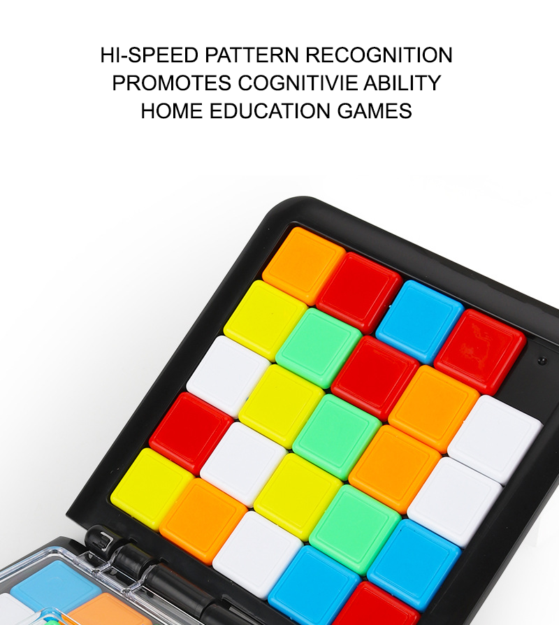 Blocks Battle Game | Hi-Speed Pattern Recognition