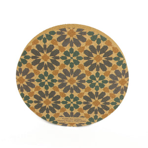 Hispanic-Arabic Pots Coaster (S)