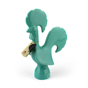 Turquoise Smooth Rooster