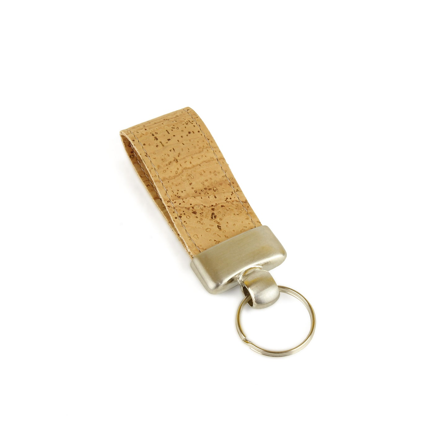 Natural Cork Keyring