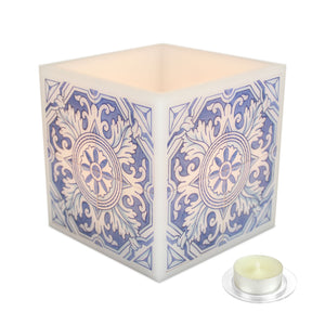 Candle Azulejo