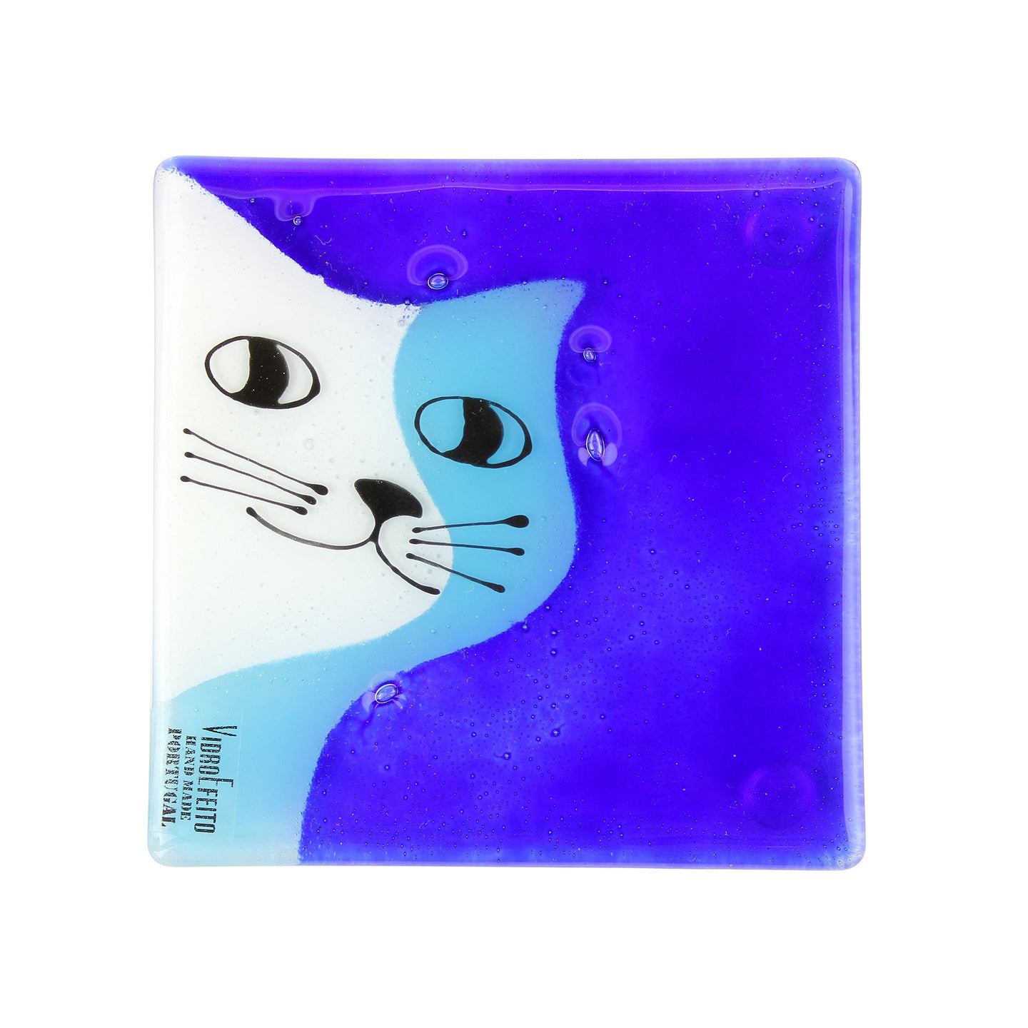 Blue Cat Coaster