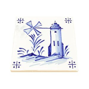 Tile Tower Windmill